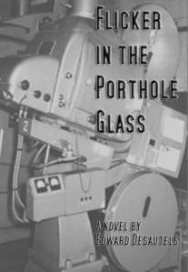Flicker in the Porthole Glass, book cover