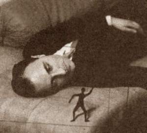 Portrait of Jacques Rigaut by Man Ray