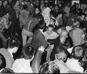 punks dancing